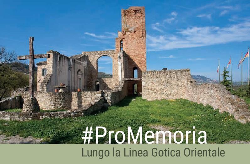 Presentazione della Guida #ProMemoria: Sabato 13 Maggio, Museo della Linea Gotica Orientale ore 16.00