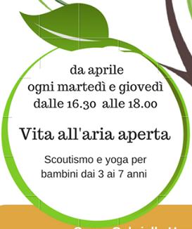Polo Scolastico Pio XII: scoutismo e yoga nella Yurta