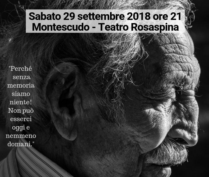 Presentazione del libro VOLTI E VOCI DELLA MIA GENTE: Sabato 29 settembre 2018 alle ore 21 – Teatro Rosaspina