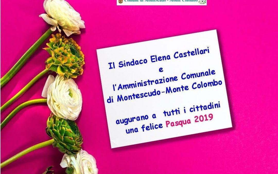 L'Amministrazione comunale augura Buona Pasqua a tutti i cittadini