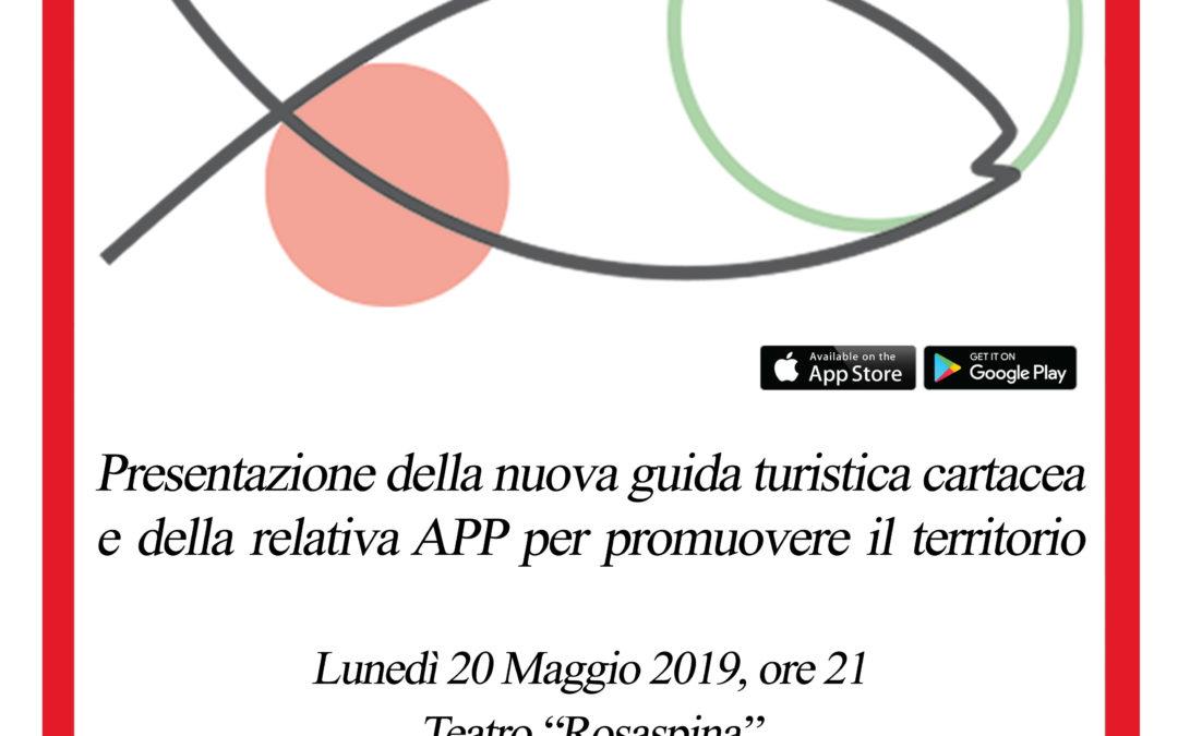 20 Maggio 2019, ore21 -Teatro Rosaspina di Montescudo: presentazione App Viaggiando in Montescudo – Monte Colombo