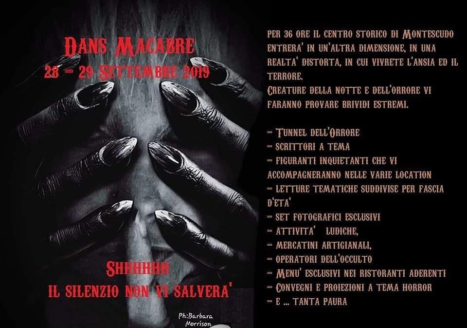 Dans Macabre: 28 e 29 settembre a Montescudo!