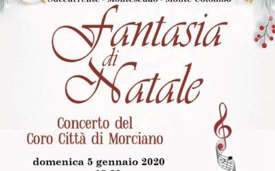 Concerto del Coro Città di Morciano – Valliano 5 gennaio 2020