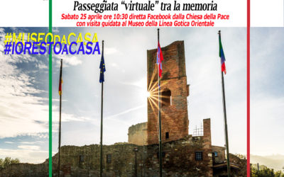 """75^ anniversario della liberazione d'Italia: Linea Gotica di Pace"""", Passeggiata """"virtuale"""""""
