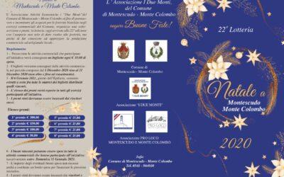 Lotteria di Natale a Montescudo – Monte Colombo: ESTRATTI I BIGLIETTI VINCENTI
