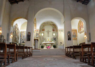 Santuario di Valliano - interno