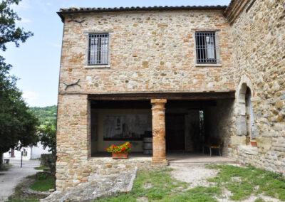 Ingresso al Museo della Linea Gotica - Trarivi