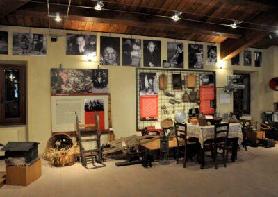 Santuario di Valliano - interno del museo etnografico
