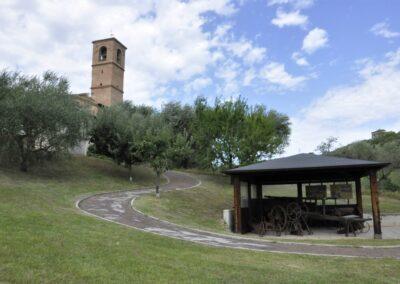 Santuario di Valliano - esterno retro