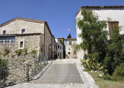Borgo fortificato di Albereto - ingresso