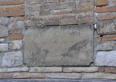 Targa della Chiesetta di Casiccio - Valliano