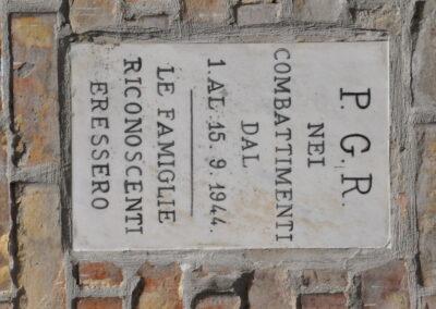 Celletta di Croce - iscrizione