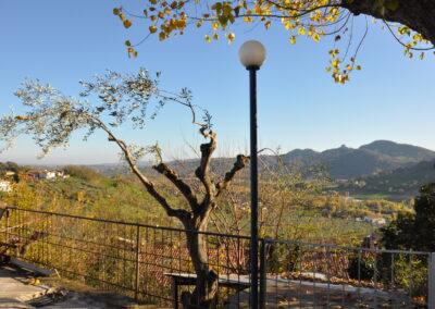 La Patarina, panorama