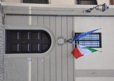 Ingresso Palazzo Comunale Monte Colombo