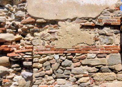 Particolare della tessitura muraria