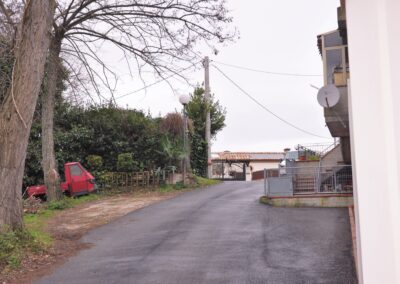 via dell'Ospedale a Monescudo, zona dove probabilmente si trovava la ruota degli esposti