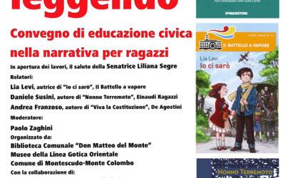 """""""Insegnare leggendo"""", convegno di educazione civica nella narrativa per ragazzi"""